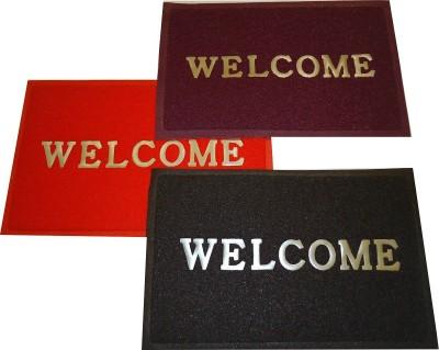 Shopgalore PVC Medium Door Mat Welcome Mat