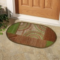 Status Nylon Door Mat Floor Mat(Multicolor, Small)