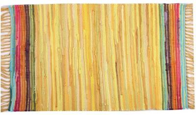 Homenblingss Cotton Small Door Mat Equals2 Yellow Rug