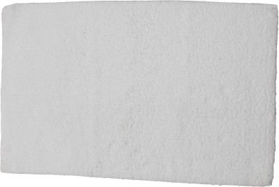 Mankoose Cotton Large Floor Mat BathmatWhite