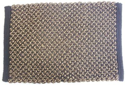 The Intellect Bazaar Cotton, Polyester Small Door Mat Coffee Cotton Door mat