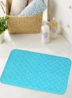 BIANCA Microfiber Medium Anti-slip/Anti-grease Mat BATH MAT(TURQ, 1 BATH MAT)