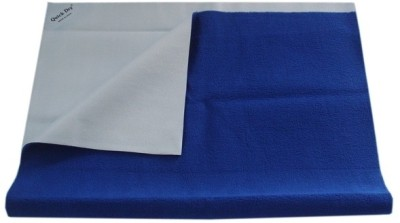 Quick Dry Cotton Small Changing Mat Plain Small Cobalt