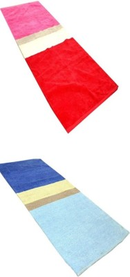 RedHot Cotton Large Yoga and Exercise Mat combo022
