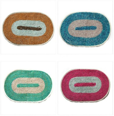 TTC Cotton Free Bath Mat oval mat
