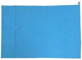 Mee Mee Rubber Sleeping Mat Total Dry & Breathable Mattress Protector(Royal Blue, Large)