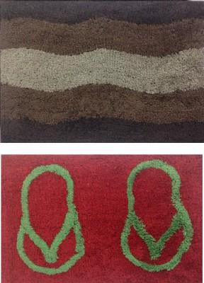 RedHot Cotton Medium Door Mat A40