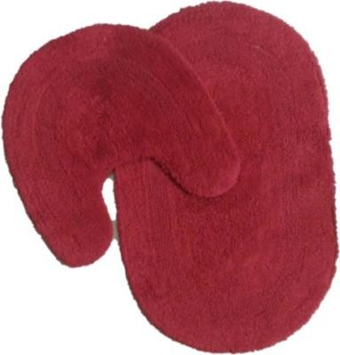 GHARSANSAAR Cotton Medium Bath Mat cottonbathmat