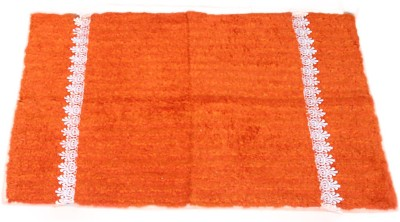 VSI Cotton Large Bath Mat VSI Homeland dreamsunlimited orange Cotton Bath Mat
