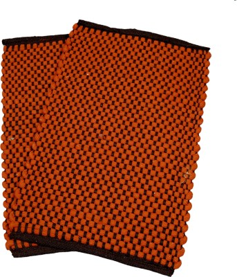 Ritika Carpets Cotton Medium Bath Mat Door Mat Set Of 2