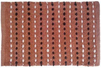 Firangi Cotton, Polyester Free Floor Mat Firangi Linear Dotted Door Mat