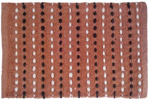 Firangi Cotton, Nylon, Polyester Free Floor Mat Firangi Linear Dotted Door Mat