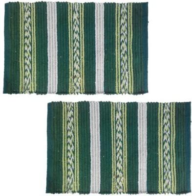 Firangi Cotton, Polyester Free Floor Mat Firangi Designer Strips Door Mat