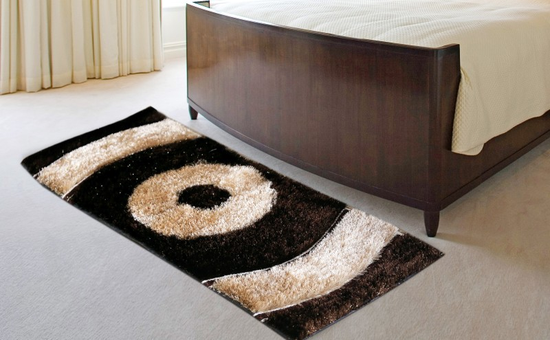 Chelsi Polyester Floor Mat Designer Runner(Multicolor, Medium)