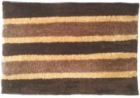 GLOBAL HOME TEX Polyester Medium Anti-slip/Anti-grease Mat D203(Brown)