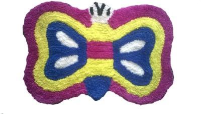 Jain Trading Company Polyester Medium Floor Mat Cotton Polyester Fiber Matt