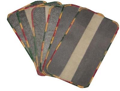 Amita Home Furnishing Polyester Medium Door Mat Colorful