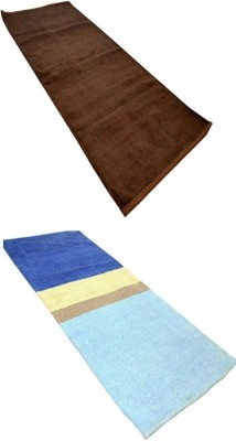 RedHot Cotton Large Yoga and Exercise Mat combo044