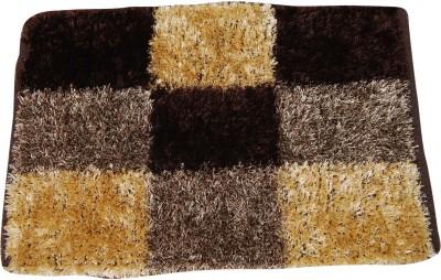 Indian Textiles Hl Polyester Medium Floor Mat Sheggy Rugs