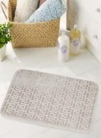 BIANCA Microfiber Medium Anti-slip/Anti-grease Mat BATH MAT(SAND, 1 BATH MAT)