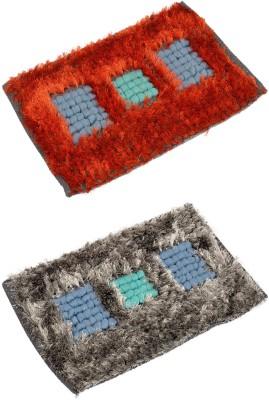 Nirmal Fleece Silk Large Door Mat Trendy Home