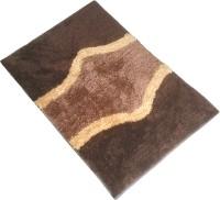 GLOBAL HOME TEX Polyester Medium Anti-slip/Anti-grease Mat ANTISKID201(Brown)