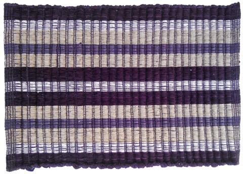 Firangi Cotton, Nylon, Polyester Free Floor Mat Firangi Thin Strips Door Cum Bath Mat
