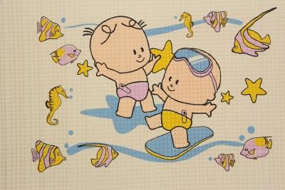 Fab Seasons Latex Rubber Large Play Mat Baby Large Multipurpose Latex Rubber Mat