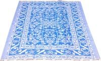SRK Plastic Medium Sleeping Mat Krishna(Blue, 1 floor mat)