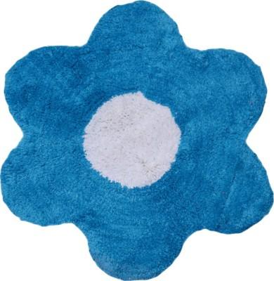 AZAAN DECOR Cotton Medium Floor Mat Anti-Skid Cotton Bath Mat