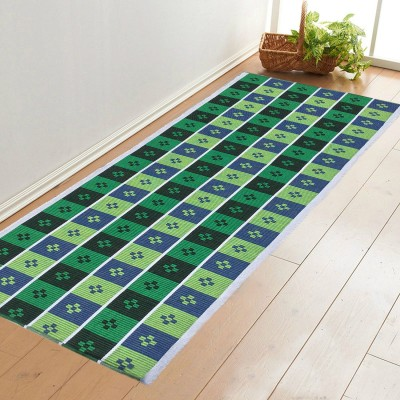 Younique Cotton Extra Large Floor Mat Cotton HandWoven Runner (72 Inches X 24 Inches)