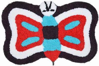 Younique Cotton Medium Floor Mat Younique - Elegant Butterfly Mat