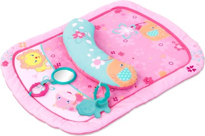 Bright Starts Baby Bath Mat Pretty in Pink Little Blooms - Prop & Play Mat