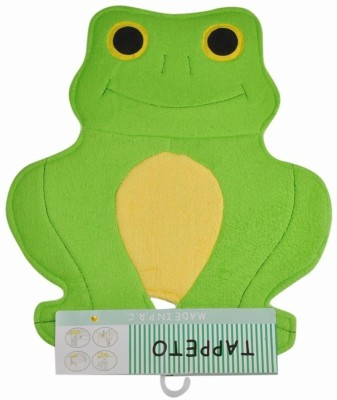Baby Bucket Cotton, Wool Medium Baby Bath Mat Frog Shaped Bath Mat