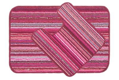 Saral Home Polyester Medium Anti-slip/Anti-grease Mat Polyester Mat