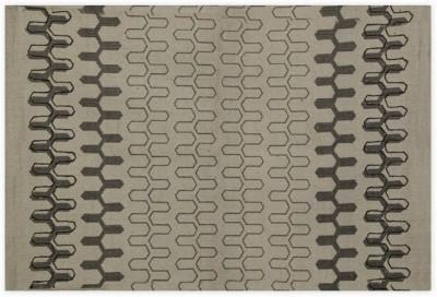 Po Box Cotton Free Floor Mat Floor Rug(Grey, 1 Floor Mat)