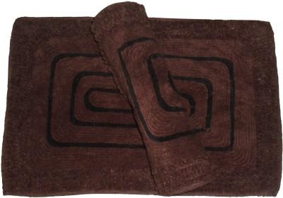 Ritika Carpets Cotton Medium Door Mat Cottan Door Mat Set Of 2