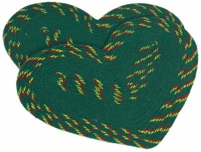 Luk Luck Cotton Large Floor Mat Heart Design Mat