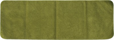 Riva Carpets Cotton Extra Large Yoga and Exercise Mat Yoga Mat(Olive Green, 1 Mat, 1 Cotton Bag)