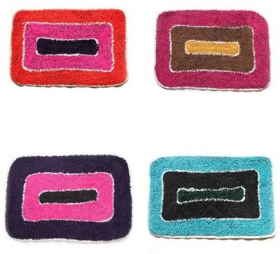 Chaitnya Handloom Cotton Medium Floor Mat Cotton Floor Mat