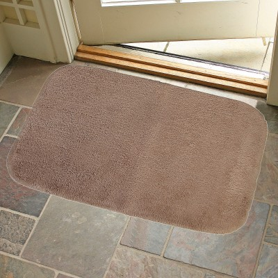 KunalHomeConcept Cotton Small Bath Mat Khaki Oslo Bathmat