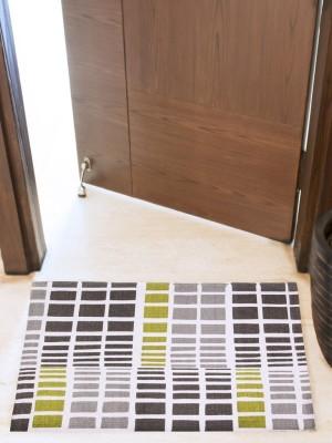 House This Cotton Small Floor Mat Floor Rug(Green, 1 Floor Rug)