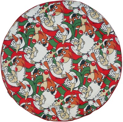 Wobbly Walk Cotton Free Play Mat Reversible Round Baby Play Mat