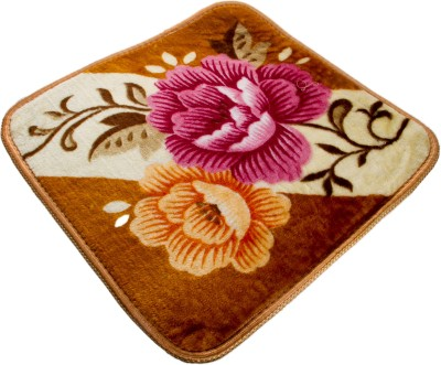 Dloop Microfiber Medium Floor Mat Floral mat