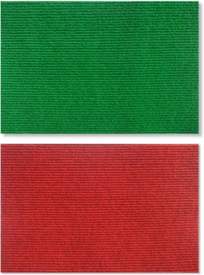 Status Nylon Medium Door Mat NANO_2PCS_GREEN+RED