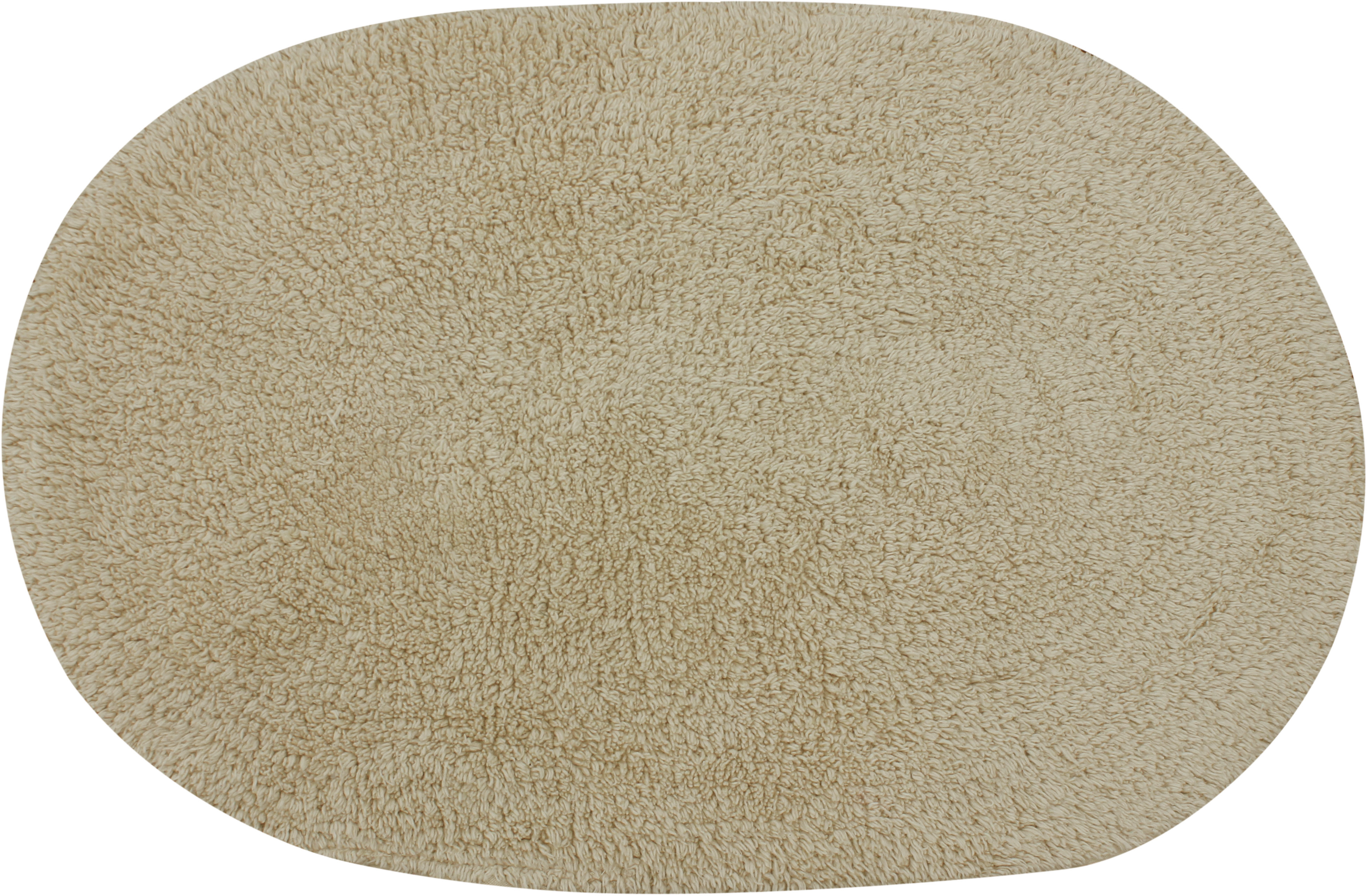 Azaani Cotton Medium Bath Mat Oval Bathmat