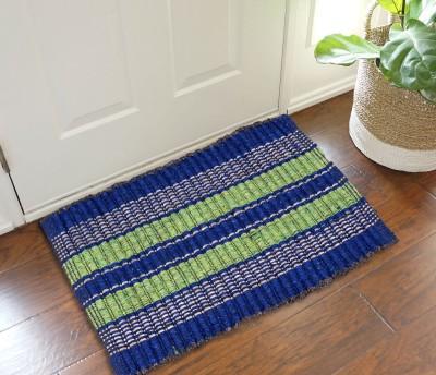 The Home Ingredients Polyester Medium Door Mat Jaipuri Style Door mat