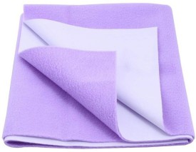 Cozy Dry Cotton Baby Bed Protecting Mat Mat Water Proof Sheet Lilac(Lavender, Medium)