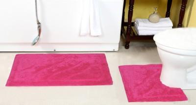 ACASA Cotton Bath Mat ABM032 SHIVA 14184 PINK(Pink, Large)