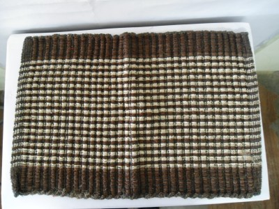 Mrignayaneei Cotton, Silk Medium Door Mat Cotton mat